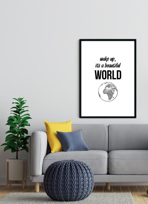 beautiful-world-poster-wohnzimmer