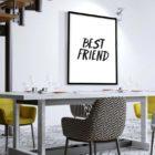 best-friend-poster-Esszimmer
