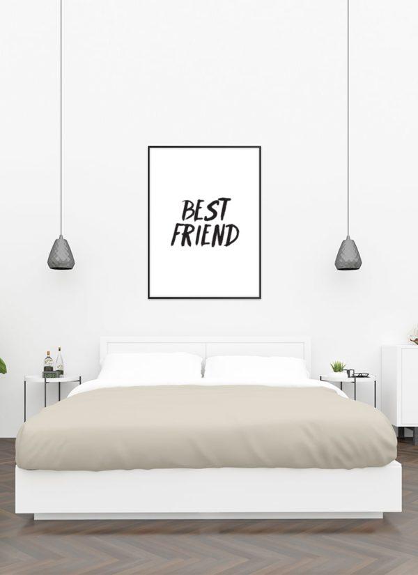 best-friend-poster-design-Schlafzimmer