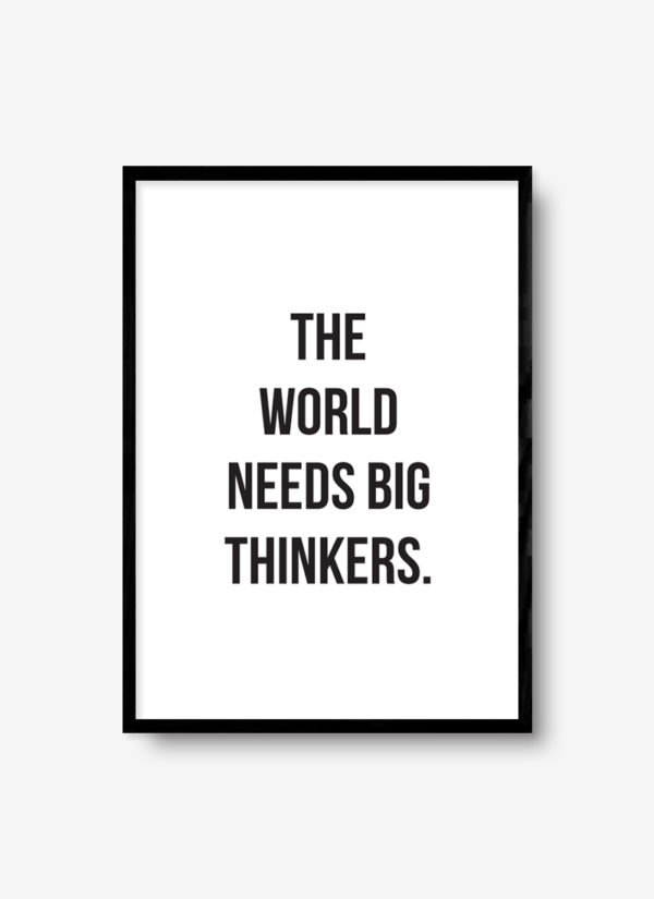 big-thinkers-poster