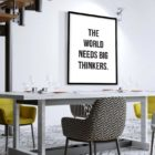 big-thinkers-poster-Esszimmer
