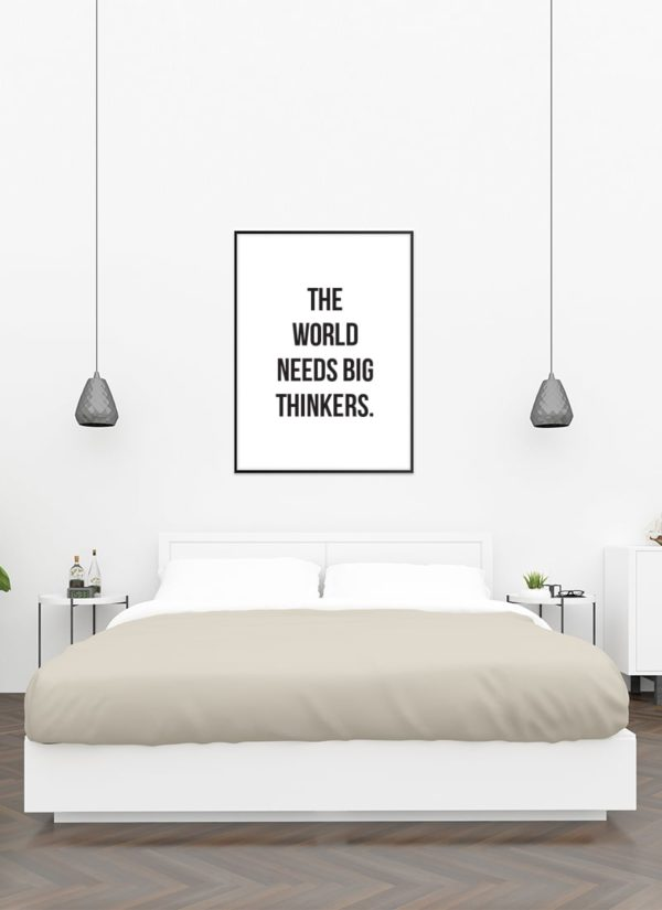 big-thinkers-poster-Schlafzimmer