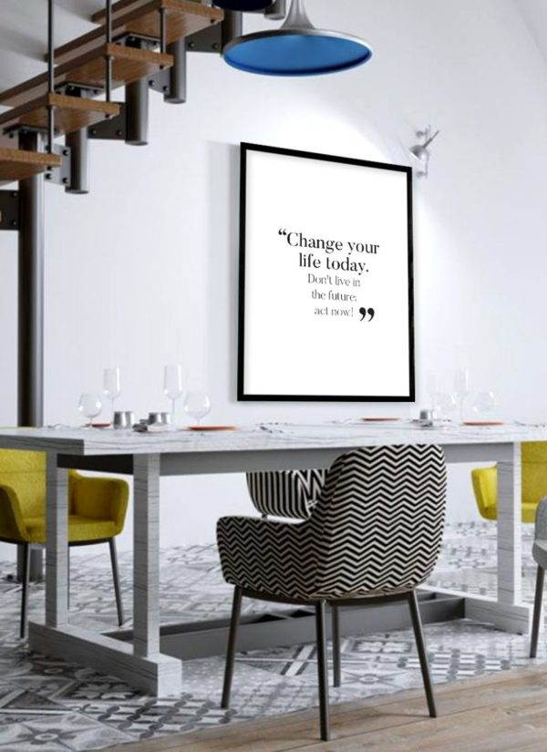 change-your-life-poster-Esszimmer