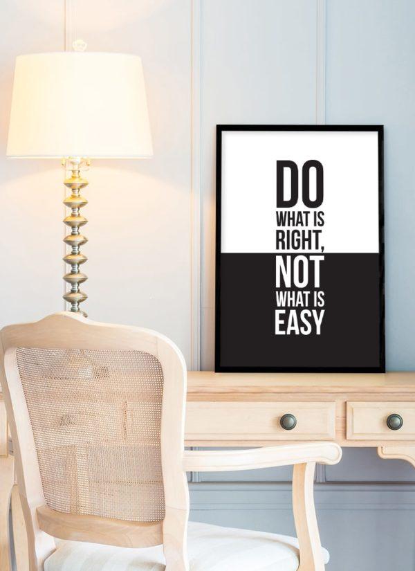 do-poster-Schreibtisch