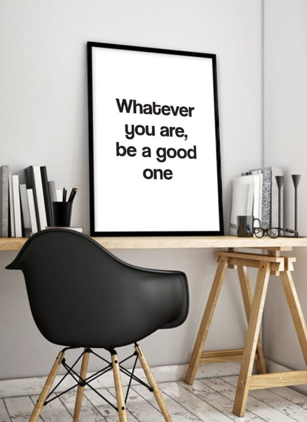 good-one-poster-design-Schreibtisch