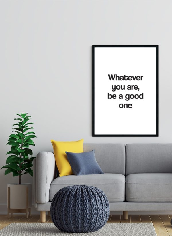 good-one-poster-design-Wohnzimmer