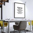 karma-poster-design-Esszimmer