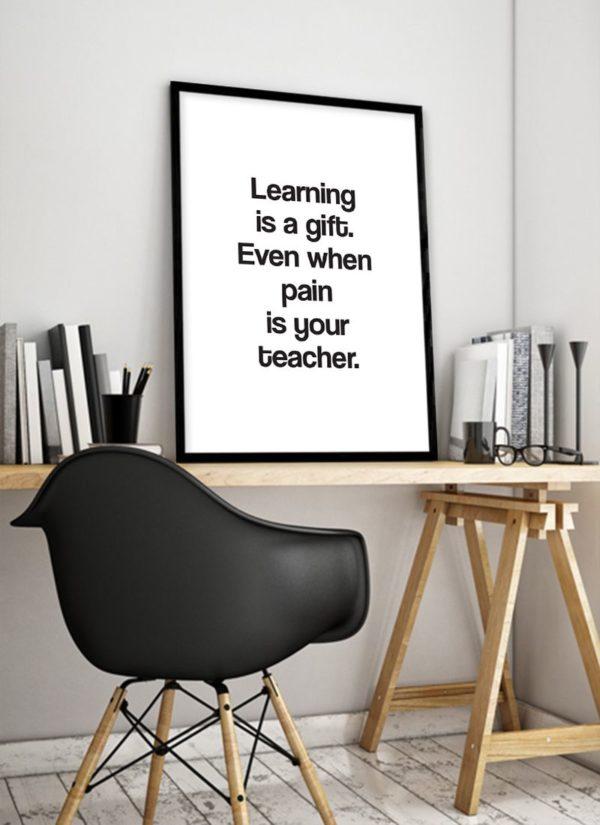 learning-gift-poster-Schreibtisch