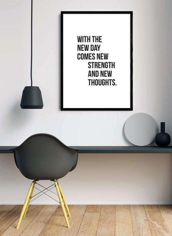 new-day-poster-Schreibtisch