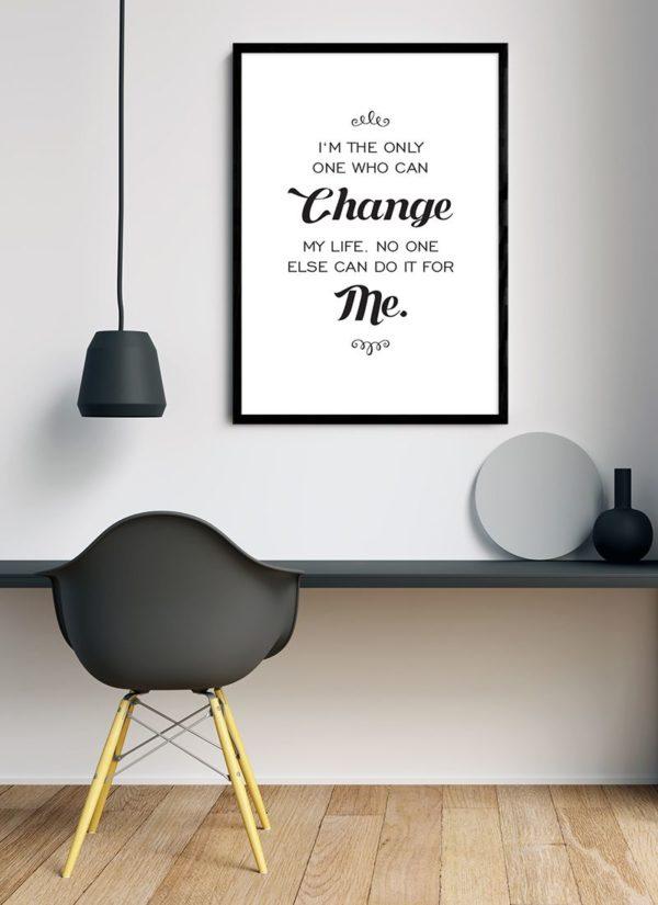 only-one-poster-Schreibtisch