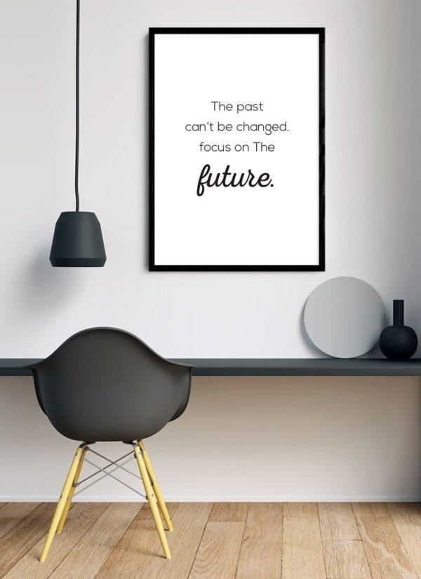 past-poster-Schreibtisch