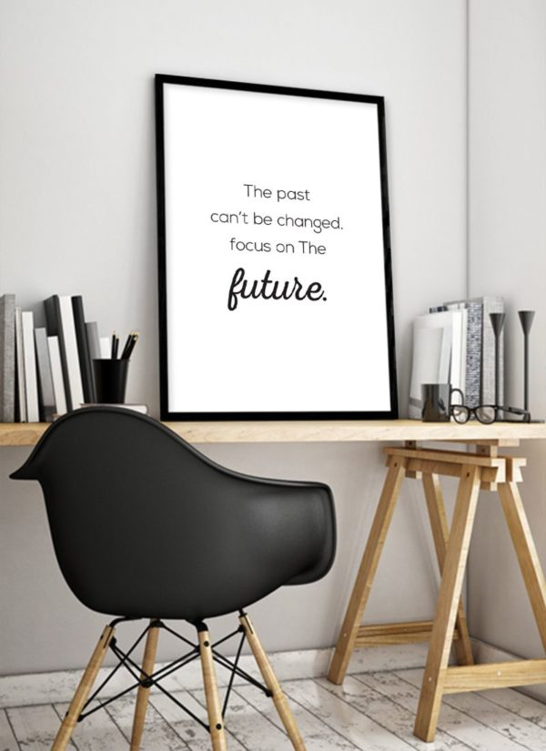 past-poster-design-Schreibtisch