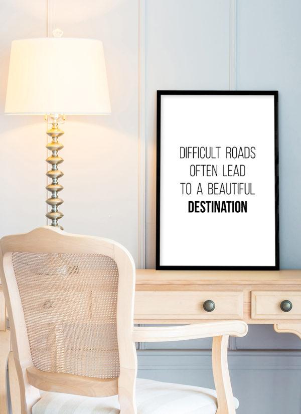 roads-lead-poster-Schreibtisch-b