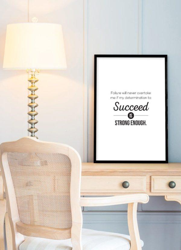 succeed-poster-Schreibtisch-b