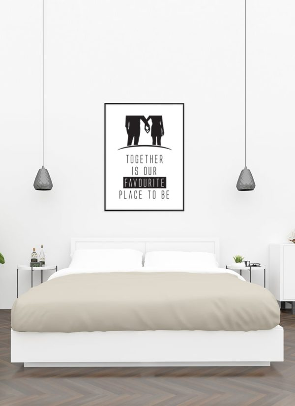 together-poster-Schlafzimmer